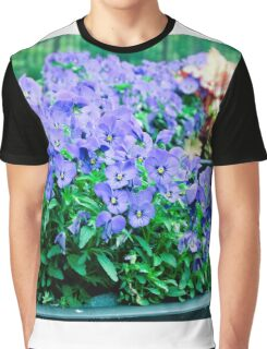 Tiny Violets Graphic T-Shirt