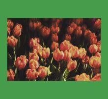 Impressions of Gardens - Flame Colored Tulip Abundance Kids Tee