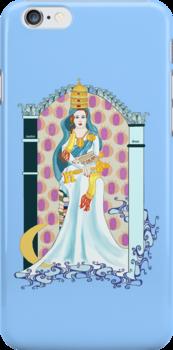 Tarot High Priestess by redqueenself