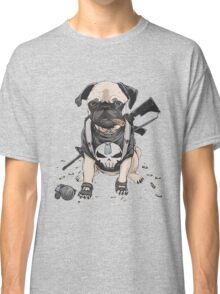 Pug Punisher Army Classic T-Shirt