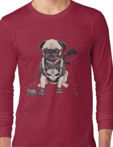 Pug Punisher Army Long Sleeve T-Shirt