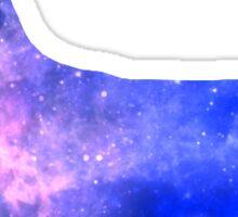 Galaxy Corgi Sticker