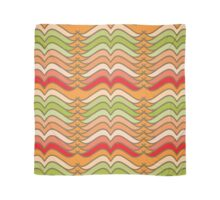 Wavy Abstract Colorful Stripes Scarf