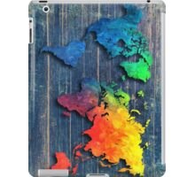 World map special 8 iPad Case/Skin