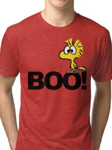 Snoopy Woodstock Boo Tri-blend T-Shirt