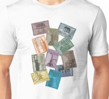 City Postage Stamps Unisex T-Shirt