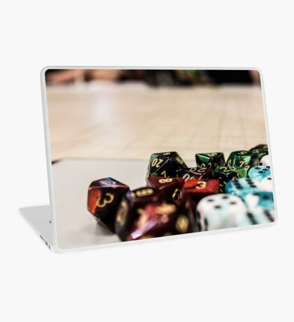 More Dice! Laptop Skin