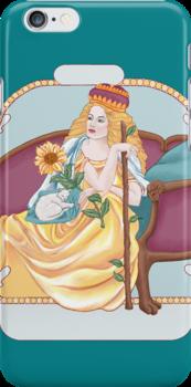 Queen of Wands by redqueenself