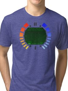 N64 Goldeneye Q Watch Tri-blend T-Shirt