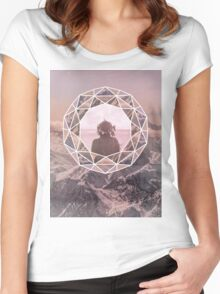 Dream Conquerer  Women's Fitted Scoop T-Shirt