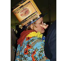 Spam Cookoff Judge at the 2007 Spamarama Photographic Print