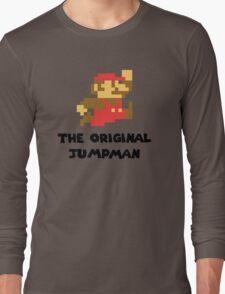 Mario - The Original Jumpman Long Sleeve T-Shirt