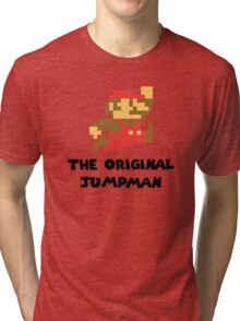 Mario - The Original Jumpman Tri-blend T-Shirt