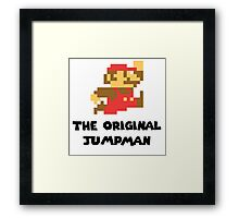 Mario - The Original Jumpman Framed Print