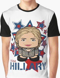 Team Hillary Politico'bot Toy Robot Graphic T-Shirt