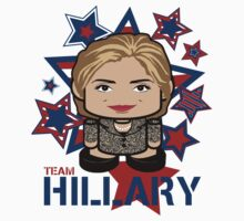 Team Hillary Politico'bot Toy Robot One Piece - Short Sleeve