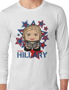 Team Hillary Politico'bot Toy Robot Long Sleeve T-Shirt