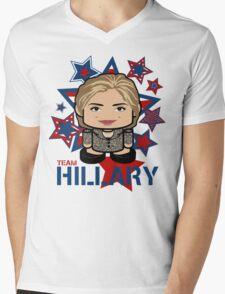 Team Hillary Politico'bot Toy Robot Mens V-Neck T-Shirt