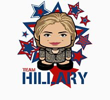 Team Hillary Politico'bot Toy Robot Womens Fitted T-Shirt