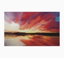 Sunset art Baby Tee