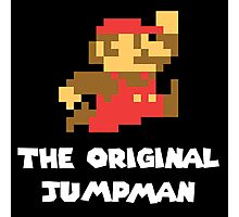Super Mario - The Original Jumpman Photographic Print
