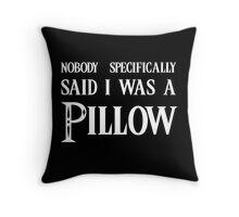 pillow? Throw Pillow