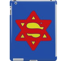 Star Of David Superman iPad Case/Skin
