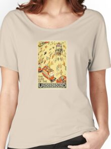 London Underground - Vintage Poster - Lure of the Tube Women's Relaxed Fit T-Shirt