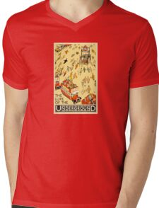 London Underground - Vintage Poster - Lure of the Tube Mens V-Neck T-Shirt