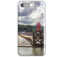 The end of the Hawes Pier iPhone Case/Skin