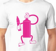 Mr Spray Can Unisex T-Shirt