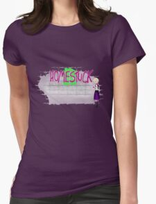 Homestuck Spraypaint: Rose Womens Fitted T-Shirt