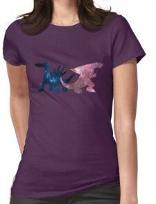 Dialga & Palkia Womens Fitted T-Shirt