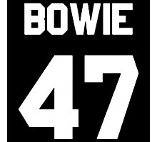 Bowie 47  Photographic Print