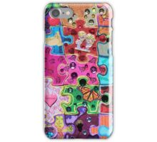 Puzzle color iPhone Case/Skin
