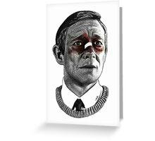 Martin Freeman - Fargo Greeting Card