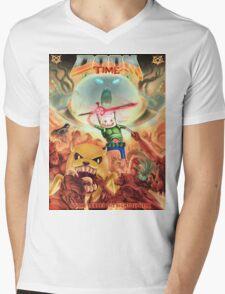 Doom Time Mens V-Neck T-Shirt