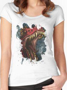 Tyrannosaurus Women's Fitted Scoop T-Shirt