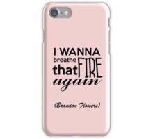 Breathe_Brandon Flowers iPhone Case/Skin