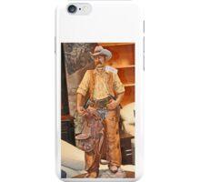 MODEL OF WESTERN COWBOY iPhone Case/Skin