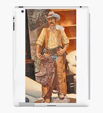 MODEL OF WESTERN COWBOY iPad Case/Skin