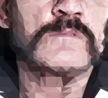 Poly Portrait Lemmy Sticker