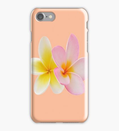 Hawaiian Flower Plumeria 2 iPhone Case/Skin