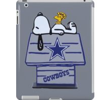 Snoopy Dallas Cowboys Fan iPad Case/Skin