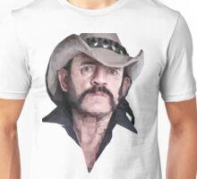 Poly Portrait Lemmy Unisex T-Shirt