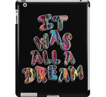 NOTORIOUS B.I.G. IT WAS ALL A DREAM GRAPHIC T SHIRT iPad Case/Skin