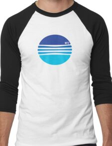 A wonderful Blue globe T-shirt Men's Baseball ¾ T-Shirt