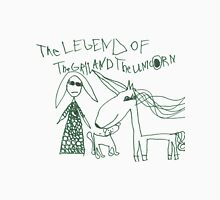 The Legend of The Girl and The Unicorn Unisex T-Shirt