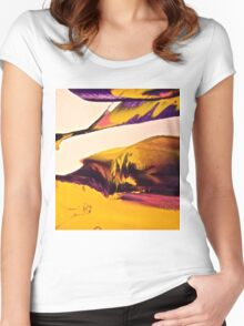 Abstract 6689 Women's Fitted Scoop T-Shirt