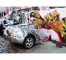 Graffiti Car Photographic Print